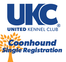 Coonhound Single Registration